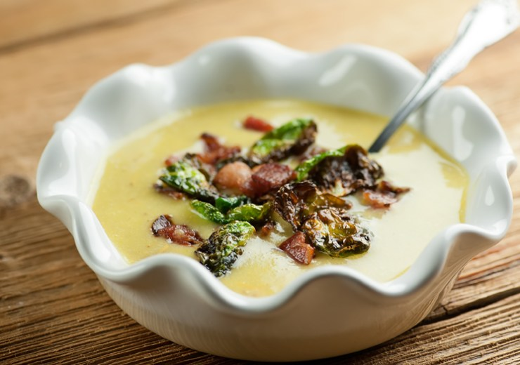 Bacon Brussels Sprouts Chowder