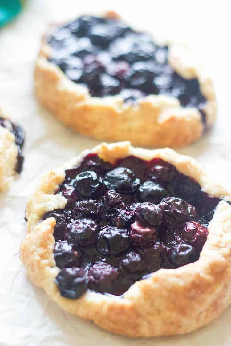 Blueberry Gallette Teena Papachan