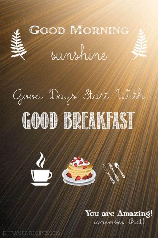 7 great breakfasts