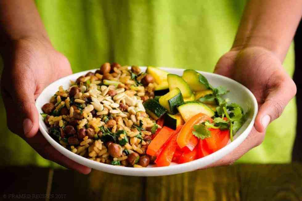 Garbanzo Beans Wild Rice