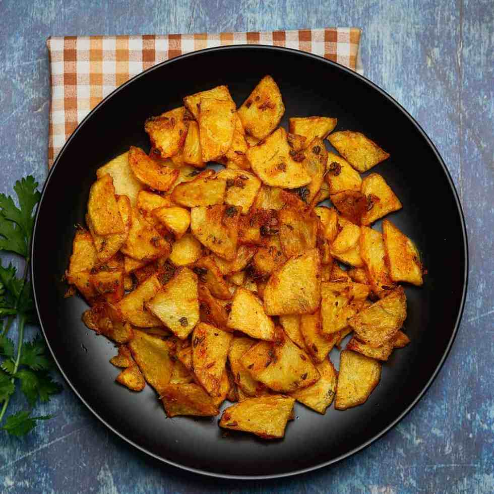 potato fry south indian style.