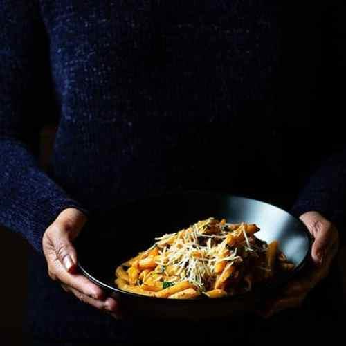 Cajun Spiced Spinach Pasta
