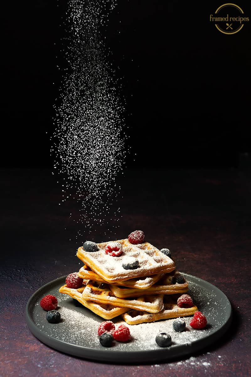 Yeasted_Oats_Waffles_POWDERED SUGAR DRIZZLE