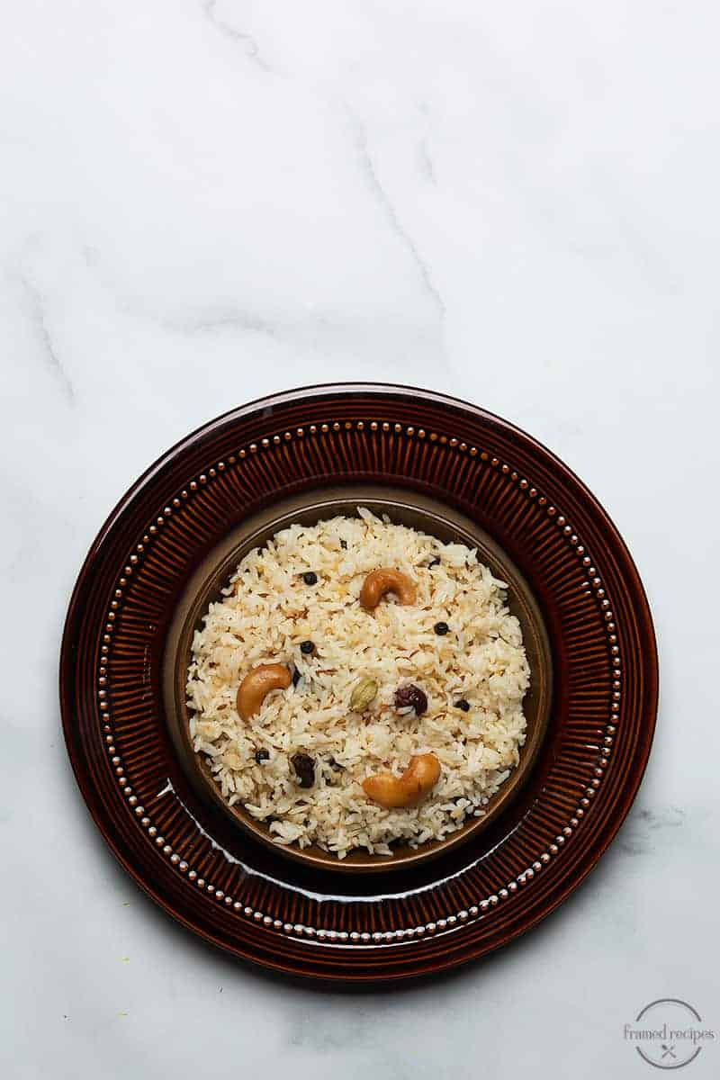 cumin flavored rice