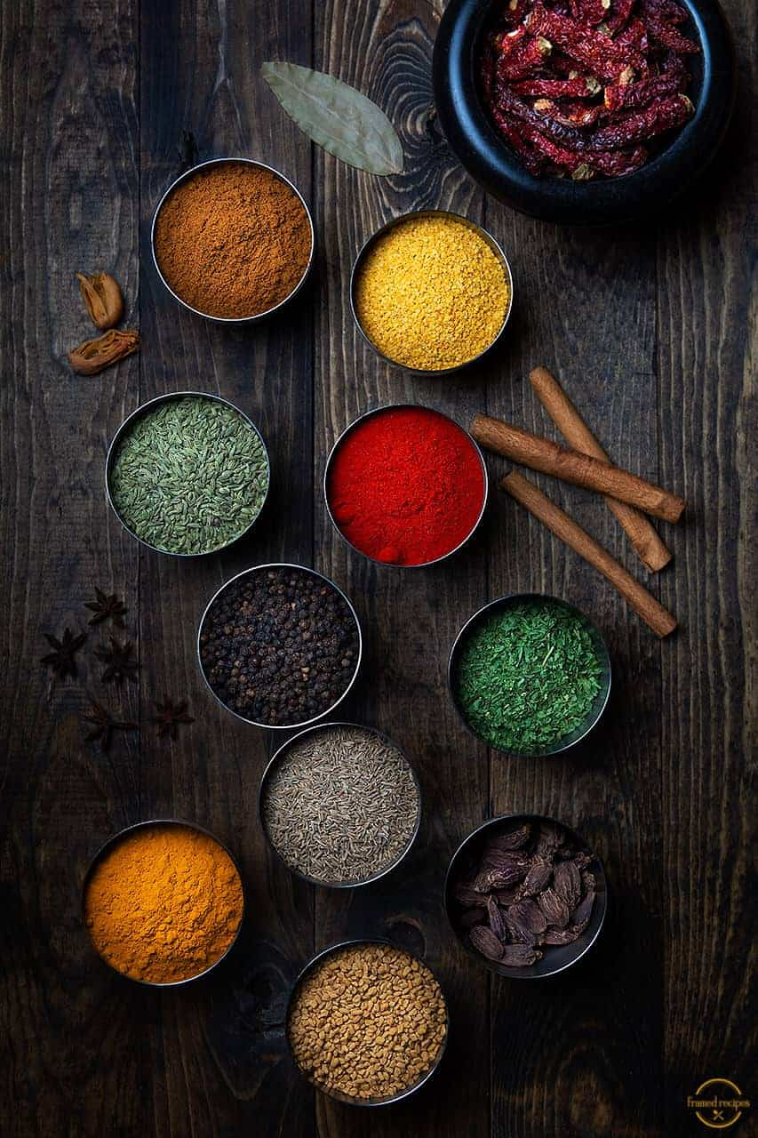 Most Essential Indian Spices.