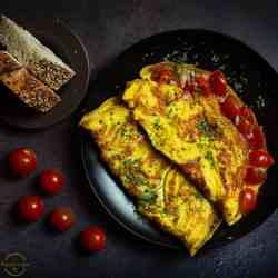 easy egg omelet recipes