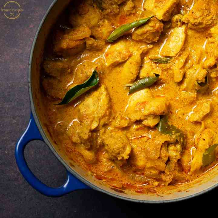 chicken curry with coconut