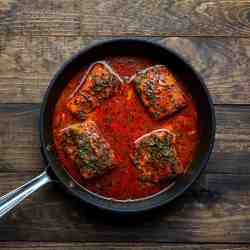 Bengali style fish curry with nigella seeds
