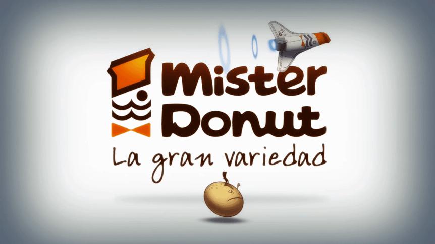 Mister Donut - 2x1 - Frame Freak Studio