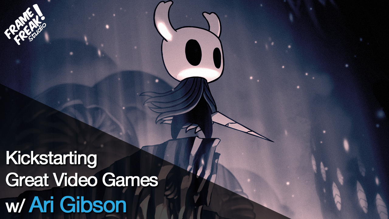 Interview with Ari Gibson: Co-Founder of Team Cherry & Hollow Knight