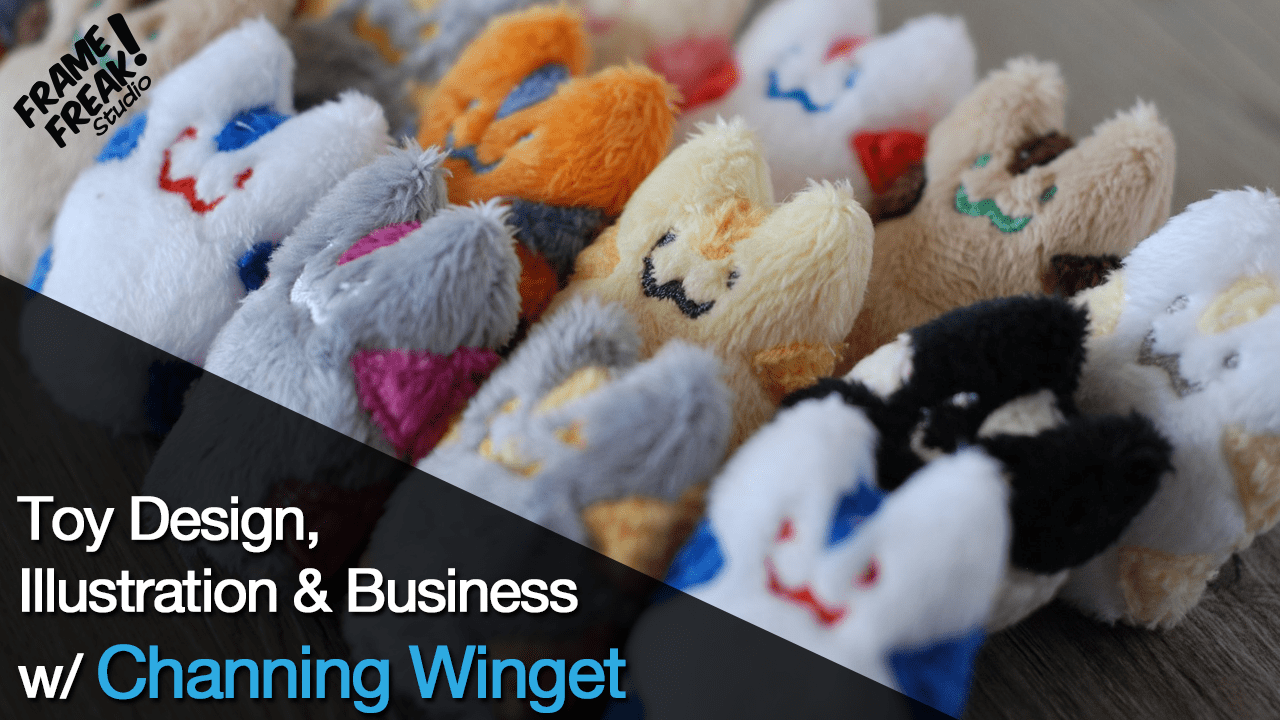 Interview with Channing Winget: Illustrator & Toy Designer