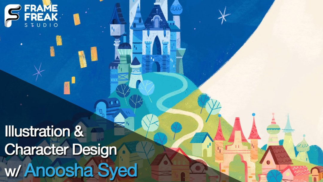 Interview with Anoosha Syed: Illustrator & Character Designer