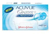 Acuvue Oasys for Presbyopia Contact Lenses are contacts specifically made for those with Presbyopia.