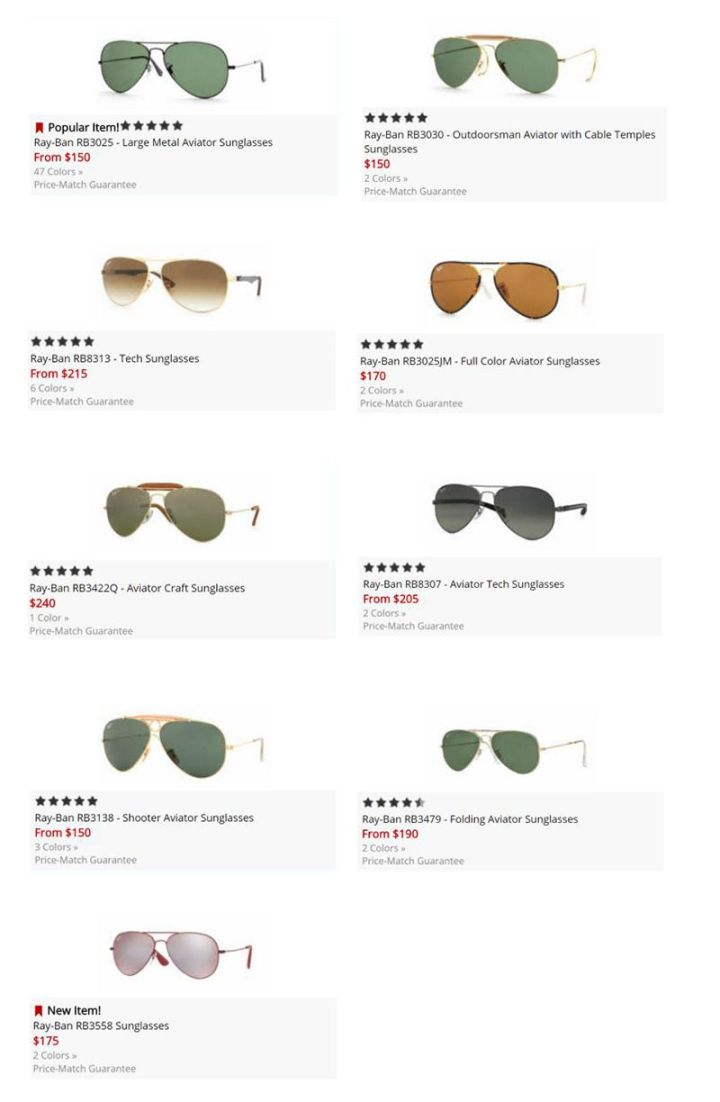 9c5014f91465 Ray Ban 3407 Aviator « One More Soul