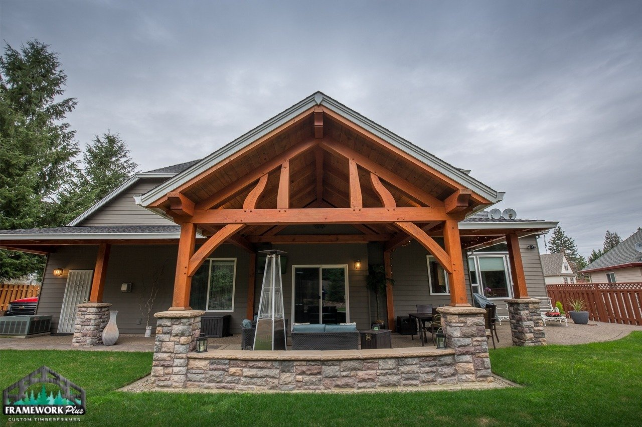 patio cover gallery frame work plus