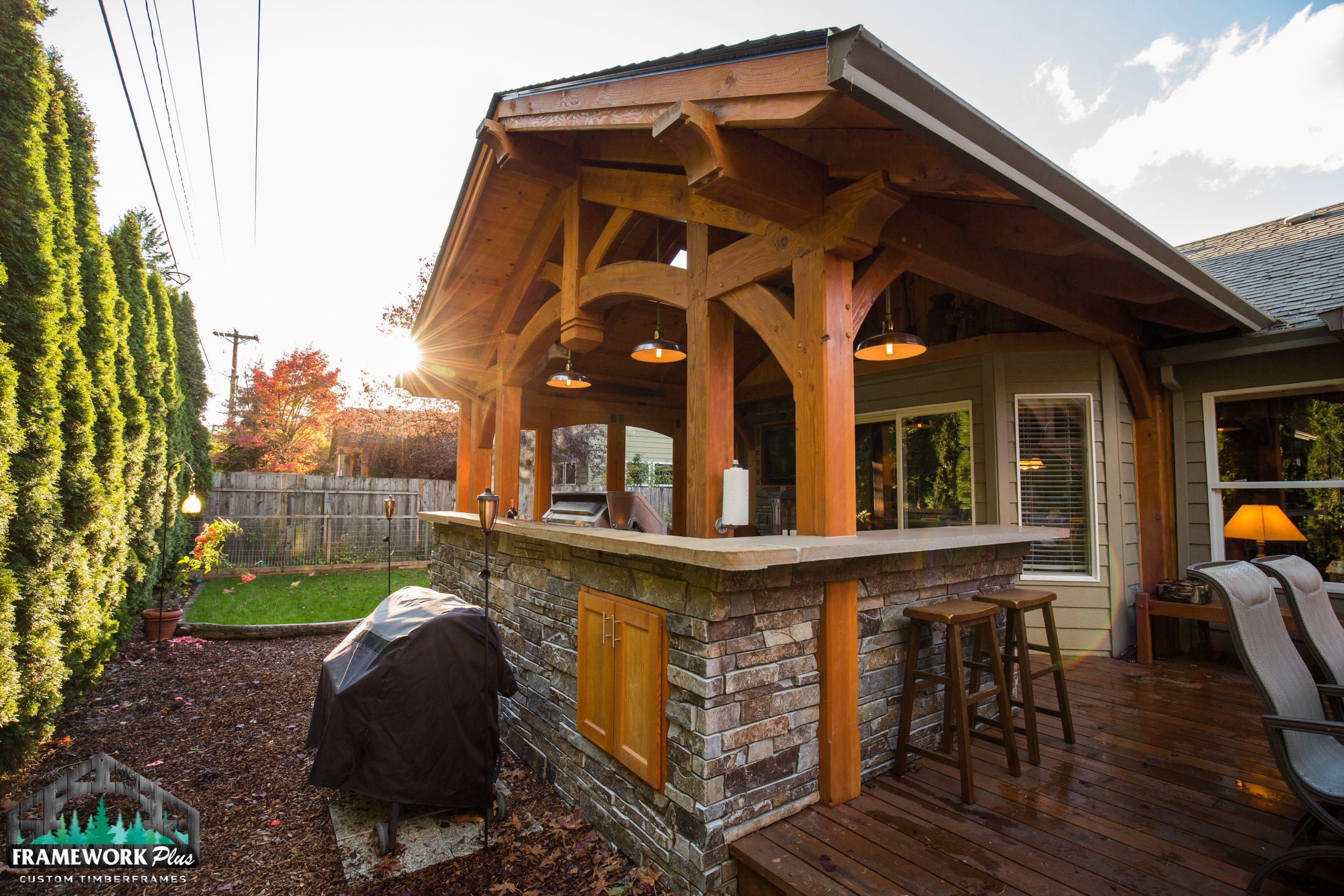 home frame work plus timber frames