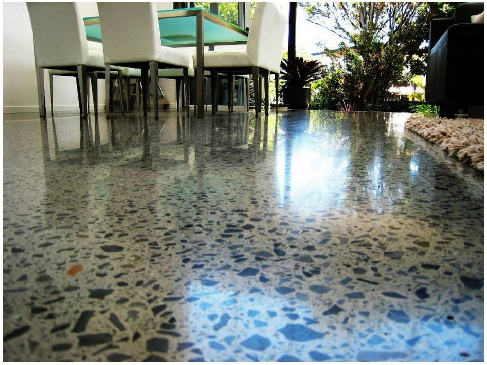 is polished concrete flooring ideal for an apartment complex framing concepts online concrete patio and driveway repair in lubbock window contractor