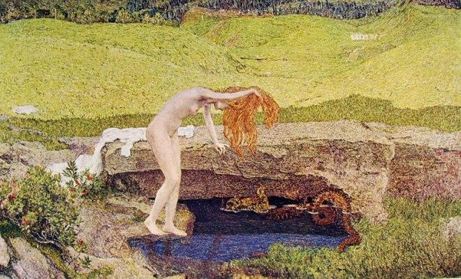 Giovanni Segantini: La vanità