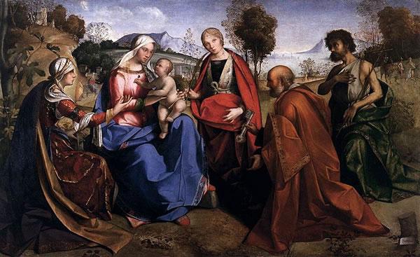 Vergine coi Santi