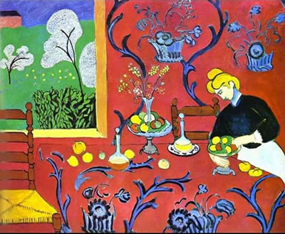 Henri Matisse - Armonia in rosso