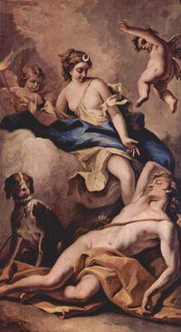 Sebastiano Ricci: Diana e Endimone