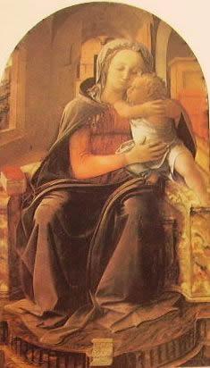 Madonna col bambino: Filippo lippi