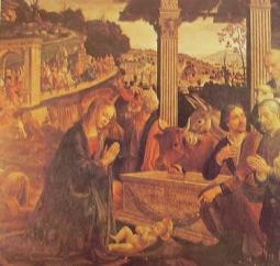 Natività: Domenico Ghirlandaio, Firenze S. Trinità