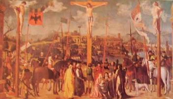 Crocifissione: Michele da Verona, 1501, Pinacoteca di Brera Milano
