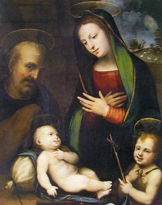 Mariotto Albertinelli: Sacra Famiglia