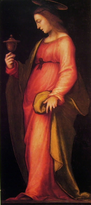 Mariotto Albertinelli: Santa Caterina d'Alessandria