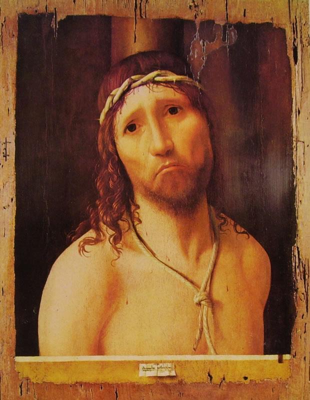 Antonello da Messina: Ecce homo di Piacenza.