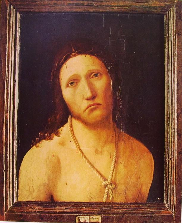 Antonello da Messina: Ecce homo (di Genova).