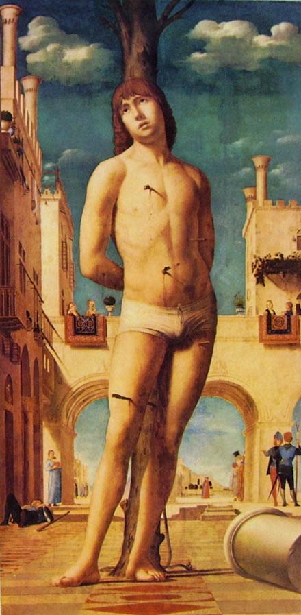 Antonello da Messina: San Sebastiano (di Dresda).