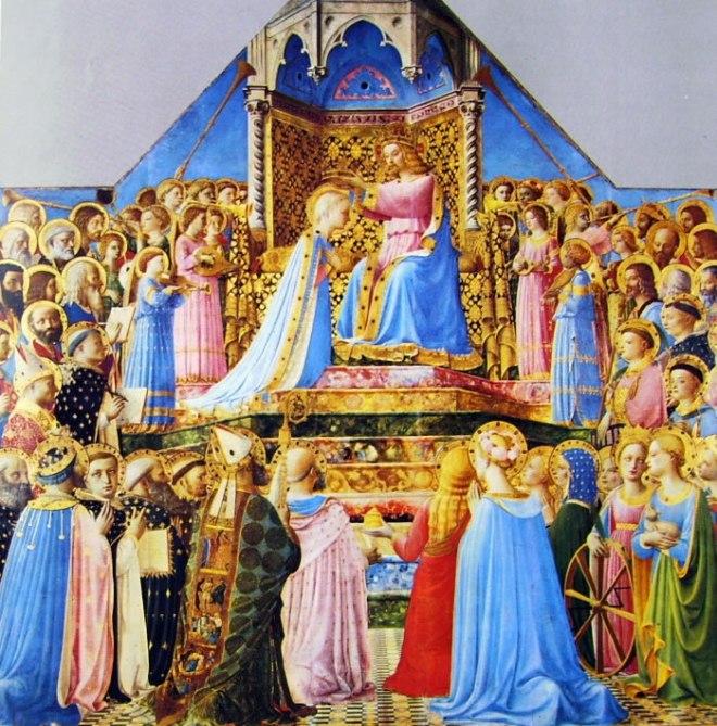 Beato Angelico: Pala dell'incoronazione