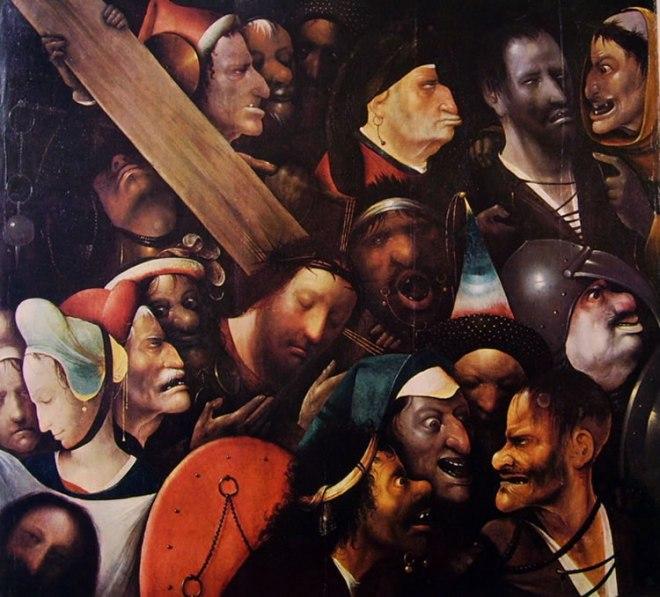 Hieronymus Bosch: Cristo porta-croce