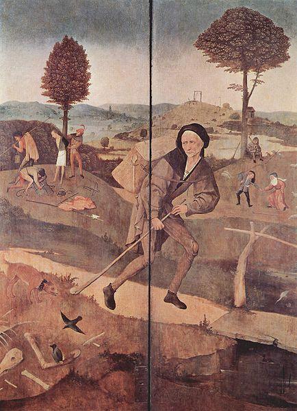 """Hieronymus Bosch: Sportelli: """"Cammino della vita"""""""
