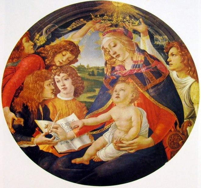 Il Botticelli: Madonna del Magnificat
