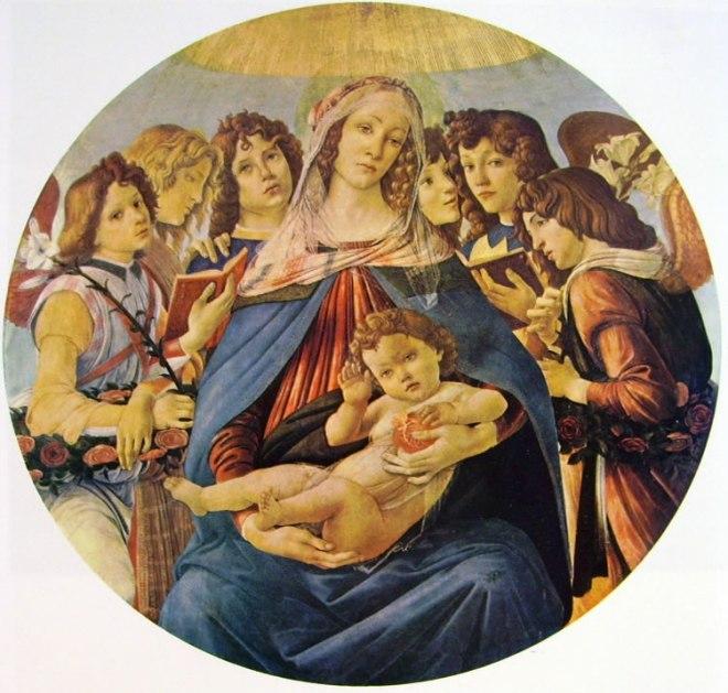 Il Botticelli: Madonna della melagrana
