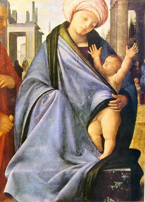 Sacra Famiglia, Pinacoteca di Brera, Milano.