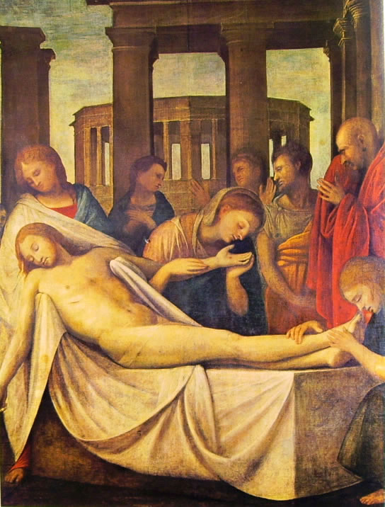 Deposizione di Cristo, Collezione privata, Milano.