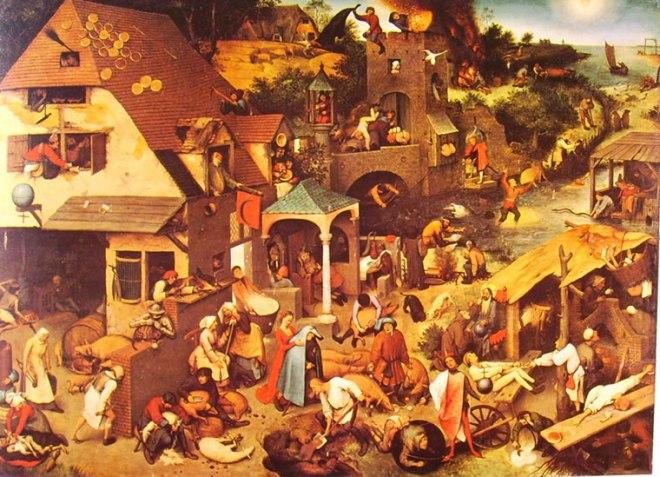 Pieter Bruegel: Proverbi fiamminghi