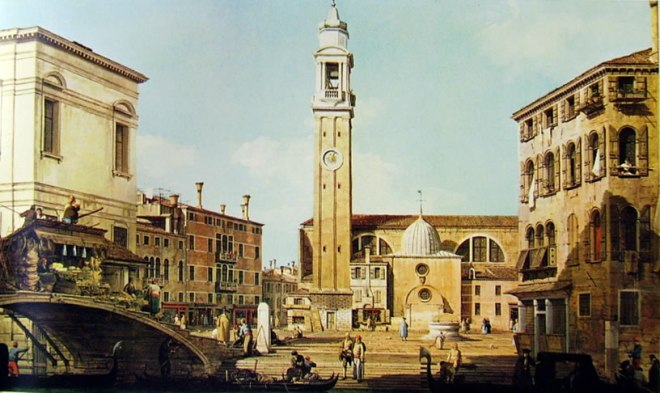 Il Canaletto: Campo Santi Apostoli