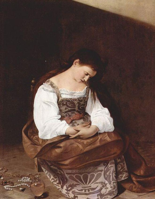 Il Caravaggio: La Maddalena