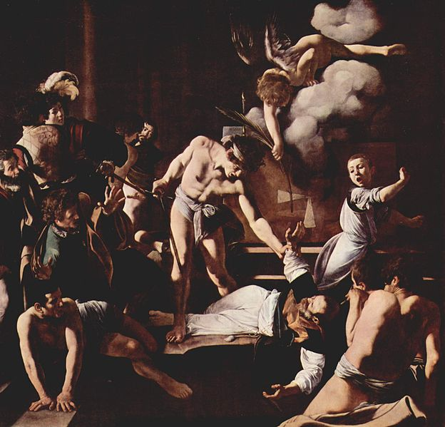Il martirio di San Matteo del Caravaggio