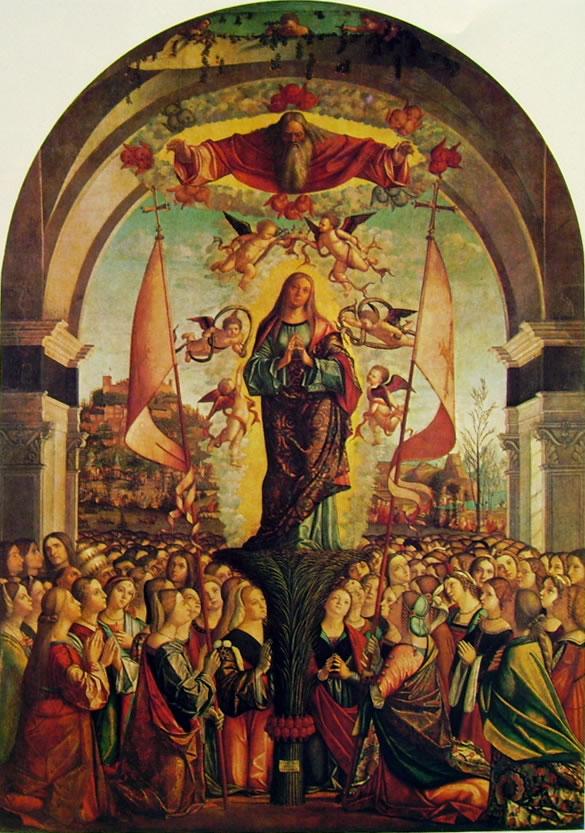 Carpaccio: Apoteosi della santa