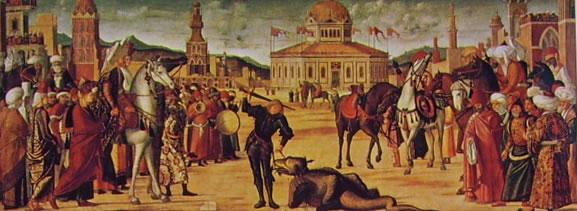 Carpaccio: San Giorgio uccide il drago