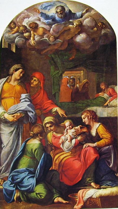 Annibale Carracci: Natività della Vergine