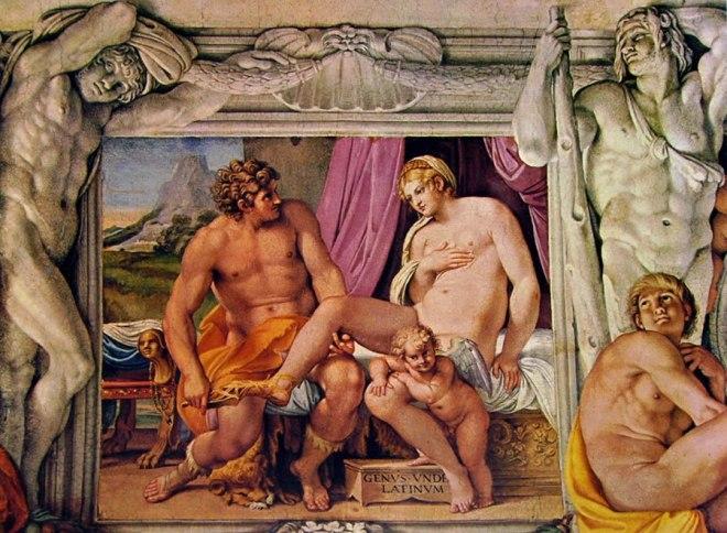 Annibale Carracci - La Galleria Farnese: Venere e Anchise