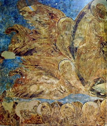 Cimabue: Assunzione della Vergine