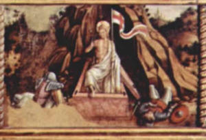 Carlo Crivelli: Polittico di Massa Fermana - Resurrezione